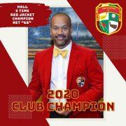 Pro Duffers 2020 Red Jacket Champion