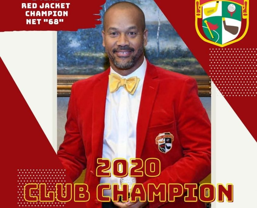 Pro Duffers 2020 Red Jacket Champion